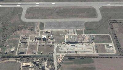 photo satellite bejaia aerogare Algerie