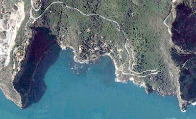 photo satellite les aiguades bejaia algerie