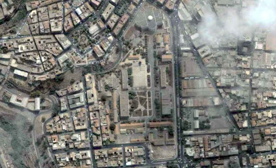 photo satellite universite mostaganem algerie