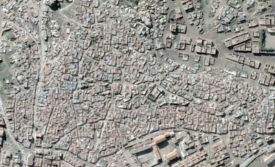 Photo satellite Tissemsilt Algerie