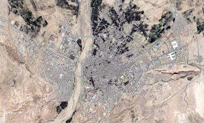 photo satellite Biskra Algerie