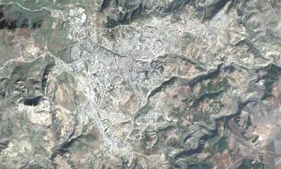 Photo satellite Souk-Ahras Algerie