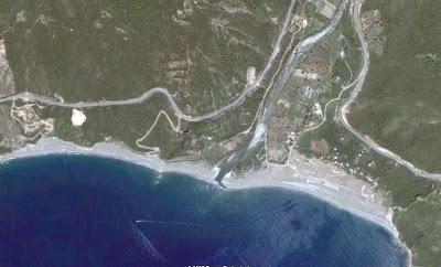 photo satellite Oued-Daass bejaia algerie