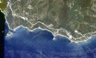 photo satellite Cap-Sigle bejaia algerie