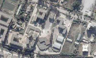 Photo satellite Residence Universite Bejaia Algerie
