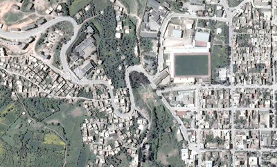 Photo satellite Mila Algerie