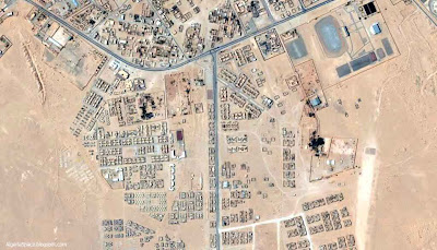 Photo satellite ville Adrar Algerie