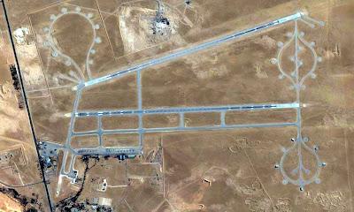 Base aerienne Ouargla Algerie
