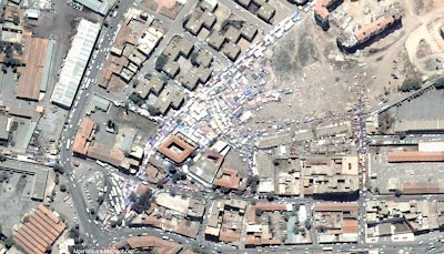 photo satellite Hopital Setif Algerie