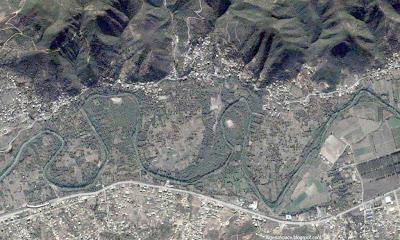 Photo satellite Soummam Kabylie Algerie