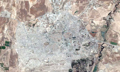 Photo satellite Setif Algerie