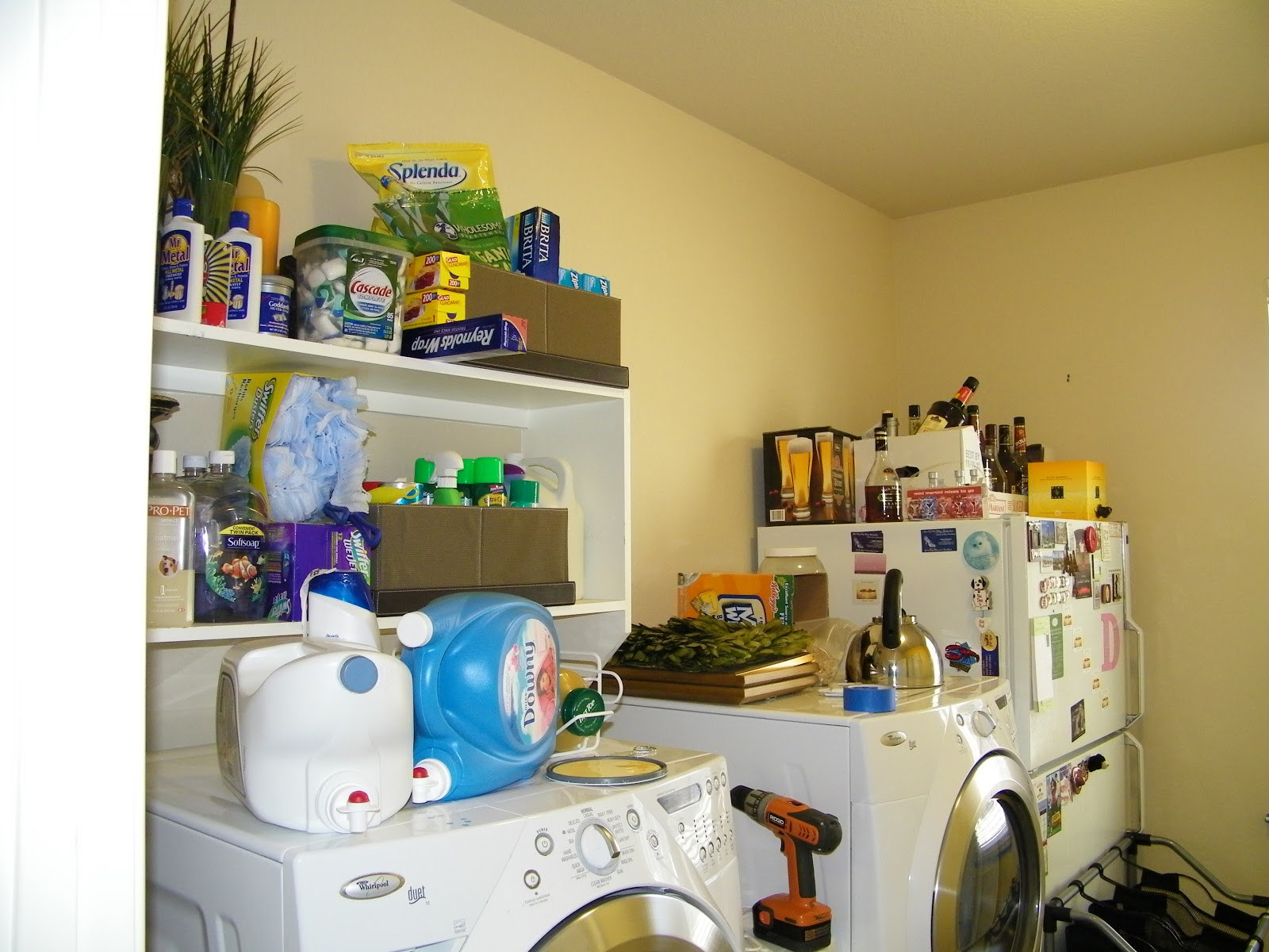 Learning As I Sew...bake, cut, and create: Laundry Room Makeover