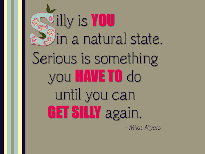 A silly quote!