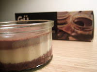 recettes dessert  Cheesecake Chocolat/vanille... Attention, Tuerie !!!