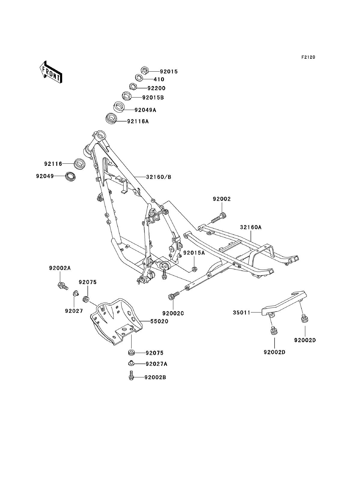 Kawasaki Klr250 Parts Diagrams