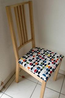 seitenstiche kissen vom stuhl neu beziehen. Black Bedroom Furniture Sets. Home Design Ideas