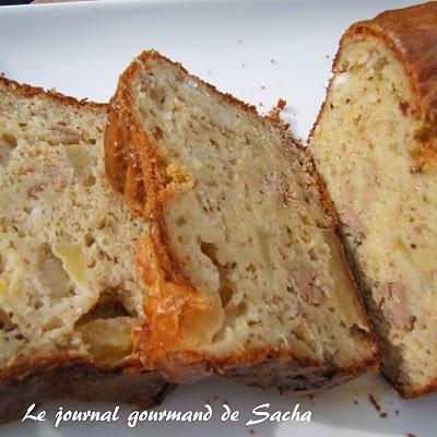 Recette Cake Thon Surimi Poivron Facile