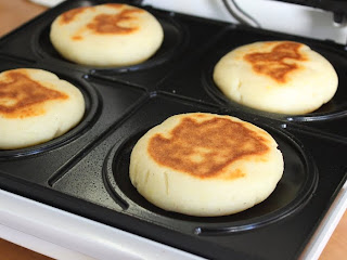 Food Wishes Video Recipes: Cream Cheese Arepas and the Machine