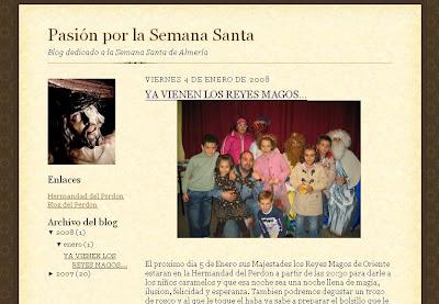 Nuevo blog de la Semana Santa de Almería