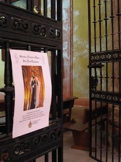 Función a San Juan Evangelista en la Sacramental del Prendimiento