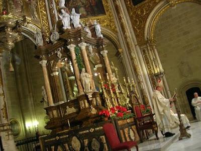 El Obispo celebra el día de la Familia con una misa en la Catedral
