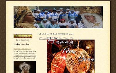 """""""Al cielo con Ella"""", nuevo blog cofrade"""