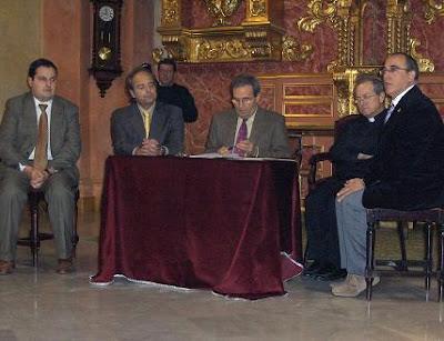Firmado el préstamo entre la Sacramental del Prendimiento y Unicaja