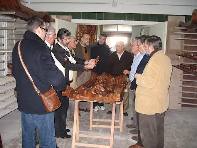 Visita soleana al charolista Juan Valdivia Casas