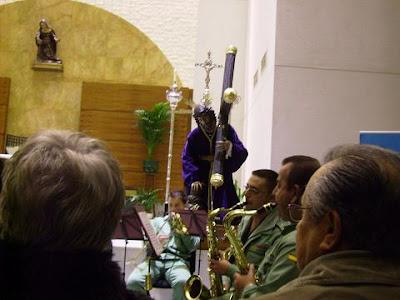 La Música de la Legión en Santa Teresa