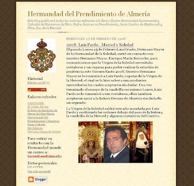 La Hermandad del Prendimiento confirma que Luis Pardo sacará la Soledad