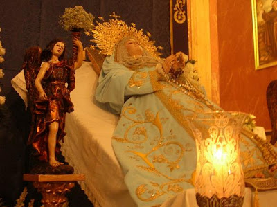 El lunes comienza el Triduo en honor a María Stma. del Tránsito en su Asunción a los cielos
