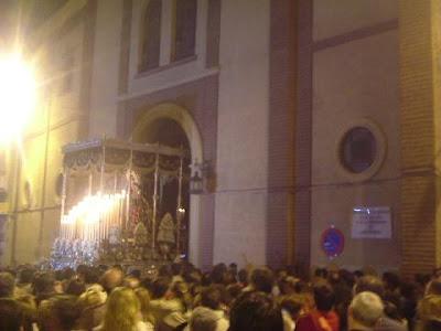 El Obispo autoriza la salida del Consuelo desde San Agustín