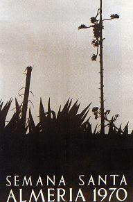 El cartel de la Semana Santa de Almería en los 50