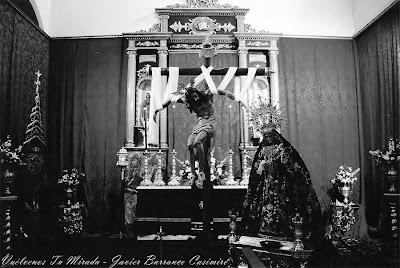 Toda una vida mirando a la Virgen del Consuelo
