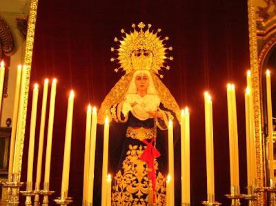 Esta tarde comienza el Triduo en honor a Nuestra Señora de Fe y Caridad