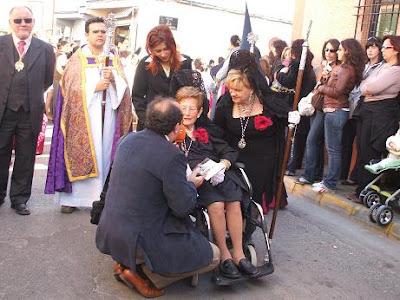 Fallece Dña. Ángeles López Sánchez, Camarera Mayor honoraria de la Stma. Virgen de Gracia y Amparo