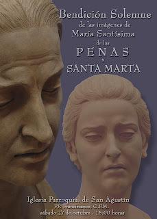 Esta tarde se bendice la imagen de María Santísima de las Penas