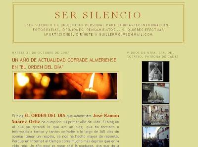 Un silencio que no calla para felicitarnos por el primer aniversario