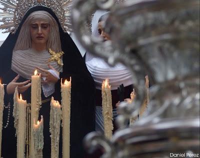 """El traslado de Santa Marta y la Virgen de las Penas en """"Paseo cofrade"""""""