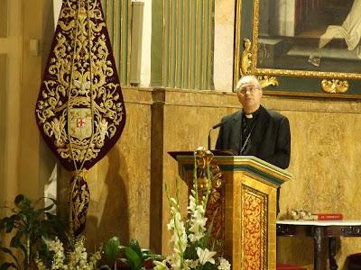 Monseñor González Montes exalta la Eucaristía en la Cena