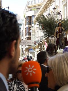 El Domingo de Ramos según Canal Sur radio