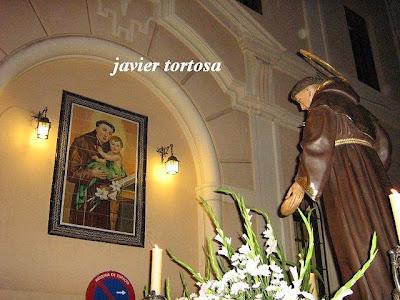 """San Antonio de los franciscanos en """"Farol de guía"""""""