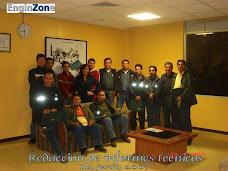 Los participantes de la empresa Enersur en ILO (Perú)