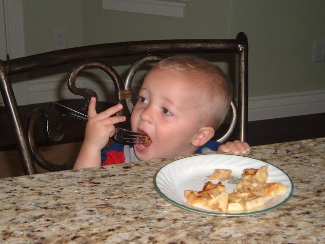Big Boy with a Fork