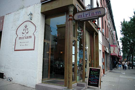 Edible Brooklyn Miriam Restaurant In Park Slope The