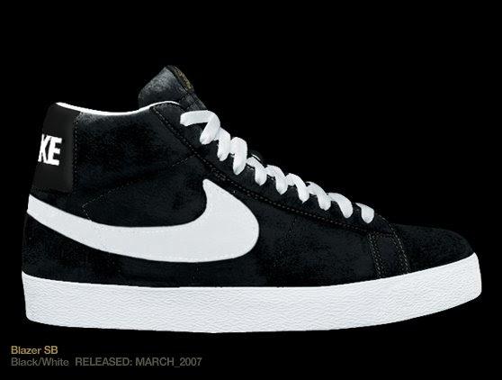 Nike Triple Black Leather Shoes