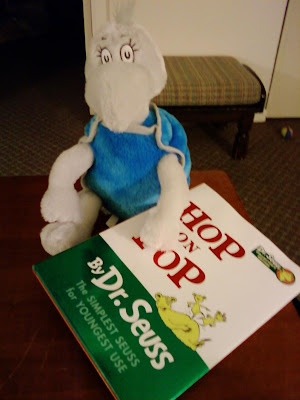 Thanks cast for the adorable Yertle the Turtle and Hop on Pop