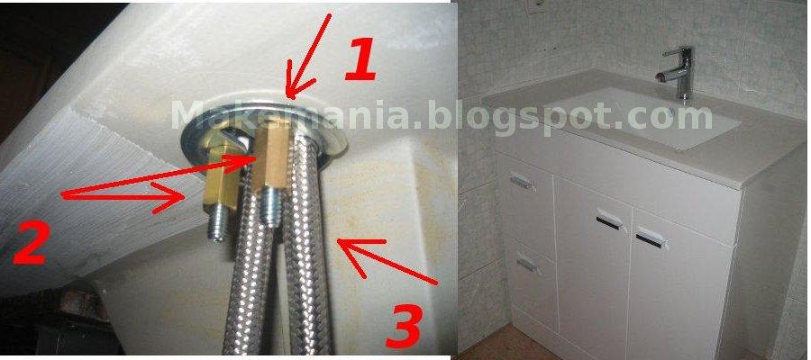 Bricolaje y modelismo montar monomando - Grifos de cocina de pared ...