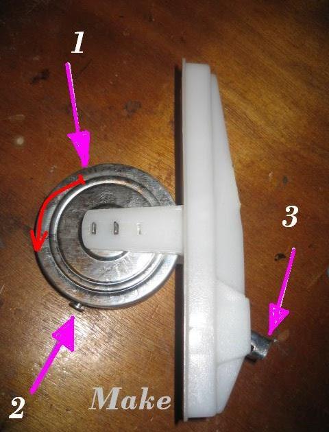 Bricolaje y modelismo recogedor de cinta de persiana - Como cambiar una persiana ...