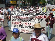 la marcha 1 de mayo 2007